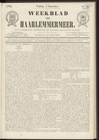 Weekblad van Haarlemmermeer 1860-09-07