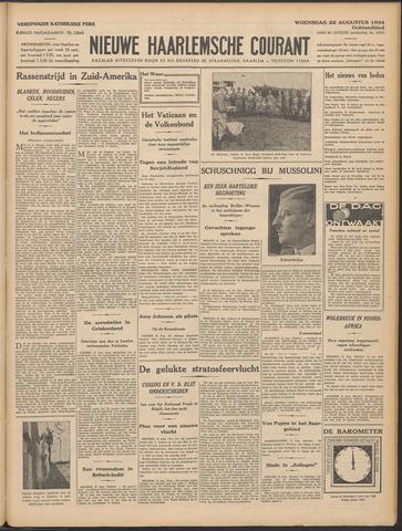 Nieuwe Haarlemsche Courant 1934-08-22