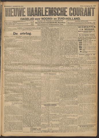 Nieuwe Haarlemsche Courant 1914-08-17