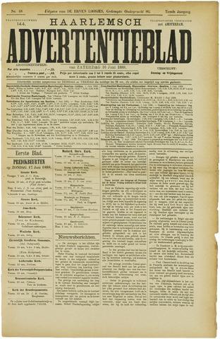Haarlemsch Advertentieblad 1888-06-16