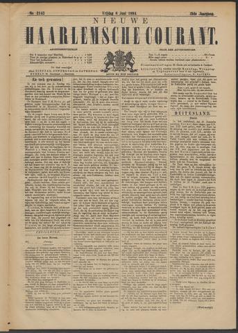 Nieuwe Haarlemsche Courant 1894-06-08