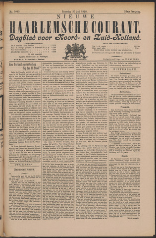 Nieuwe Haarlemsche Courant 1898-07-30