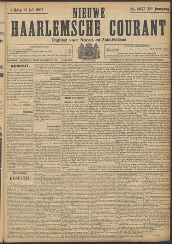 Nieuwe Haarlemsche Courant 1907-07-19