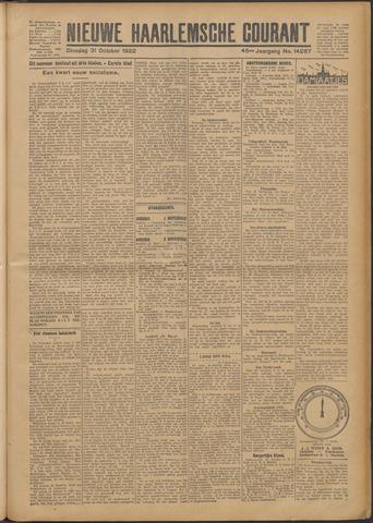 Nieuwe Haarlemsche Courant 1922-10-31