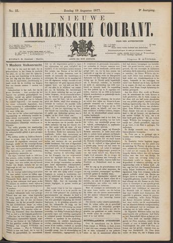 Nieuwe Haarlemsche Courant 1877-08-19
