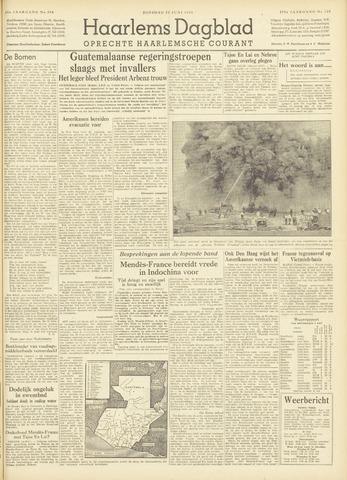 Haarlem's Dagblad 1954-06-22
