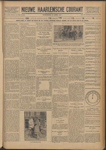Nieuwe Haarlemsche Courant 1931-04-22