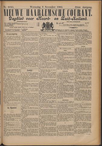 Nieuwe Haarlemsche Courant 1905-11-08