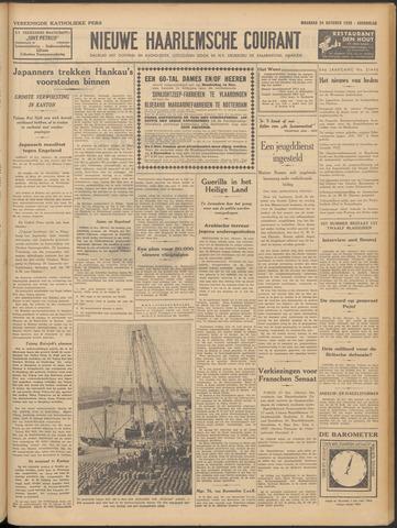 Nieuwe Haarlemsche Courant 1938-10-24