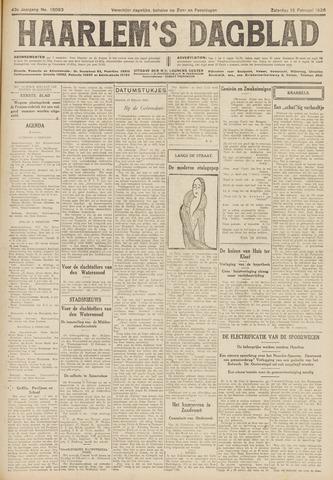 Haarlem's Dagblad 1926-02-13