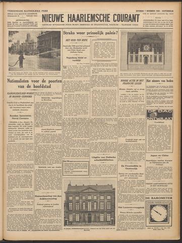 Nieuwe Haarlemsche Courant 1936-11-07