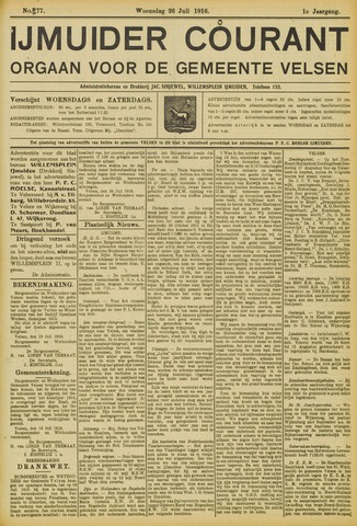 IJmuider Courant 1916-07-26