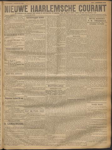 Nieuwe Haarlemsche Courant 1918-08-07