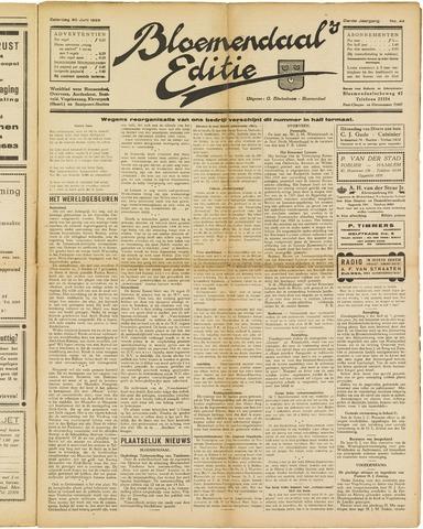 Bloemendaal's Editie 1928-06-30