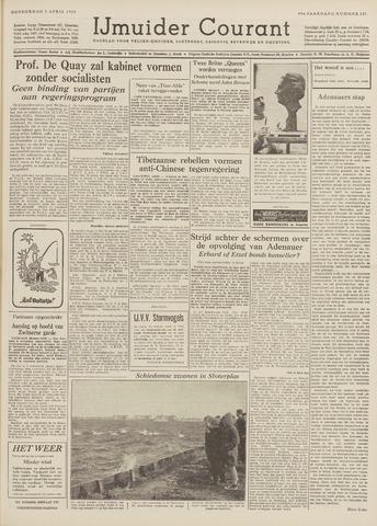 IJmuider Courant 1959-04-09