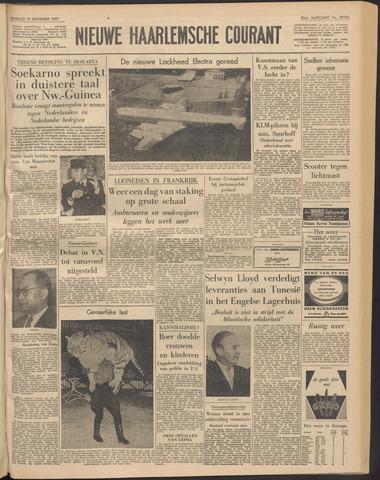 Nieuwe Haarlemsche Courant 1957-11-19