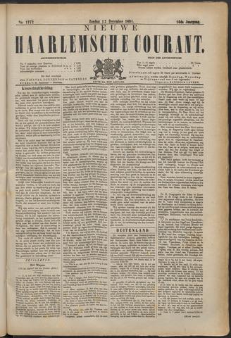 Nieuwe Haarlemsche Courant 1891-12-13