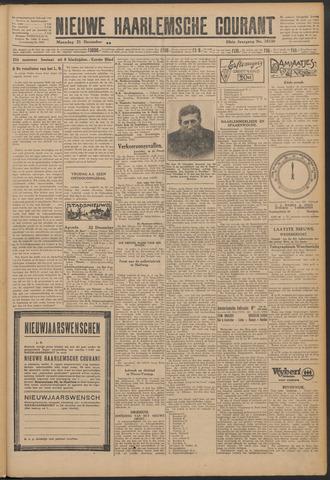Nieuwe Haarlemsche Courant 1925-12-21