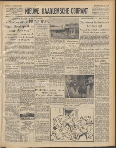 Nieuwe Haarlemsche Courant 1957-09-11