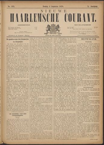 Nieuwe Haarlemsche Courant 1878-08-04