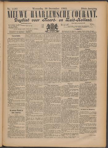 Nieuwe Haarlemsche Courant 1903-12-30
