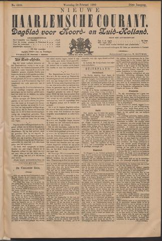Nieuwe Haarlemsche Courant 1900-02-28