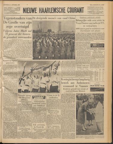 Nieuwe Haarlemsche Courant 1958-09-11