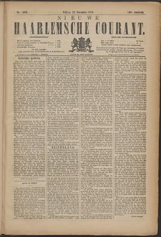 Nieuwe Haarlemsche Courant 1889-11-22