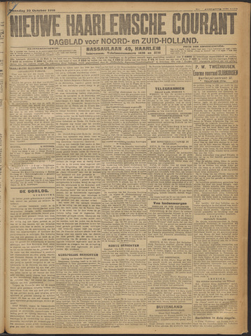 Nieuwe Haarlemsche Courant 1916-10-23