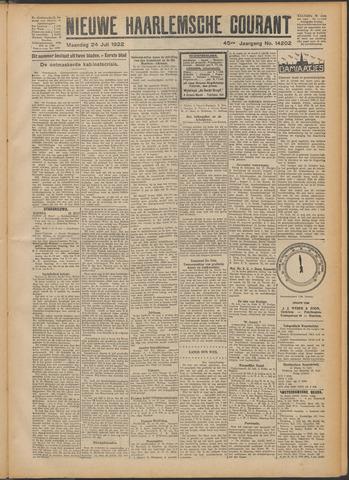 Nieuwe Haarlemsche Courant 1922-07-24