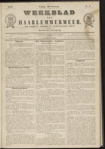 Weekblad van Haarlemmermeer 1875-02-26