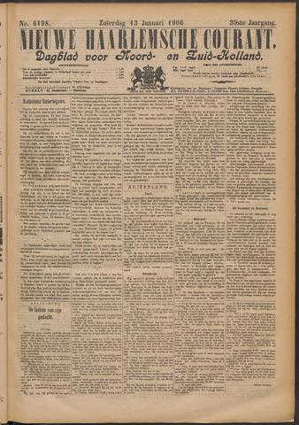 Nieuwe Haarlemsche Courant 1906-01-13