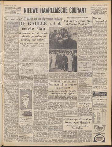 Nieuwe Haarlemsche Courant 1958-05-27