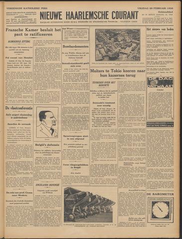 Nieuwe Haarlemsche Courant 1936-02-28