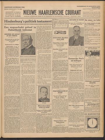 Nieuwe Haarlemsche Courant 1934-08-16