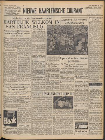 Nieuwe Haarlemsche Courant 1952-04-19