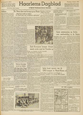 Haarlem's Dagblad 1950-10-04