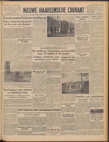 Nieuwe Haarlemsche Courant 1951-03-07