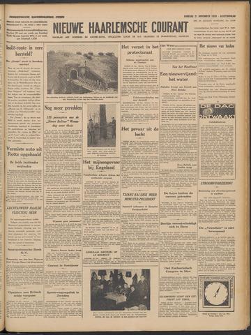 Nieuwe Haarlemsche Courant 1939-11-21