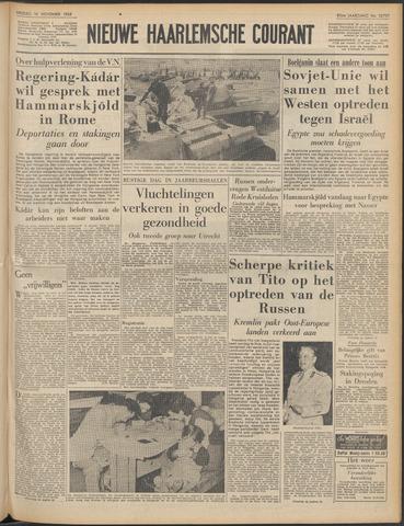 Nieuwe Haarlemsche Courant 1956-11-16