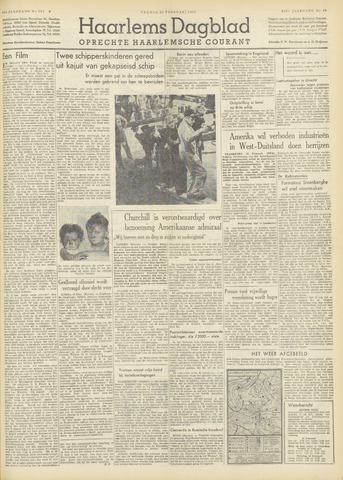 Haarlem's Dagblad 1951-02-23