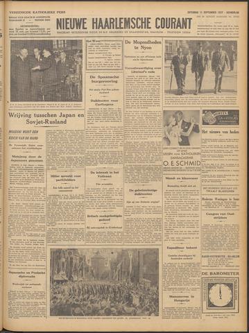 Nieuwe Haarlemsche Courant 1937-09-11