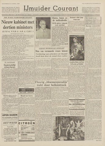 IJmuider Courant 1959-04-25