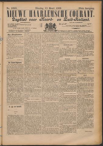 Nieuwe Haarlemsche Courant 1906-03-13