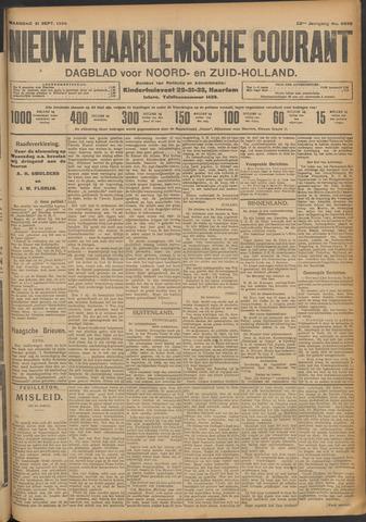 Nieuwe Haarlemsche Courant 1908-09-21