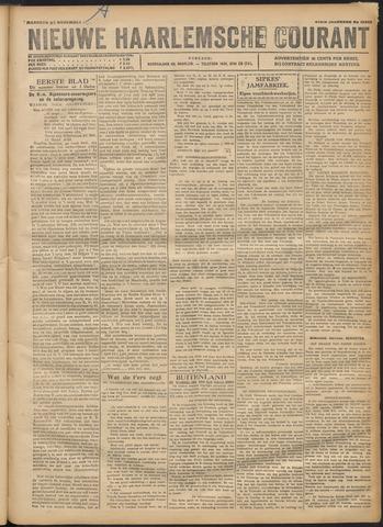 Nieuwe Haarlemsche Courant 1920-11-22