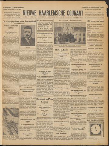 Nieuwe Haarlemsche Courant 1933-09-01