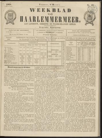 Weekblad van Haarlemmermeer 1868-03-06