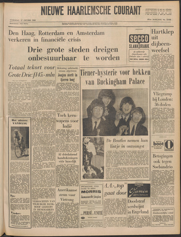 Nieuwe Haarlemsche Courant 1965-10-27