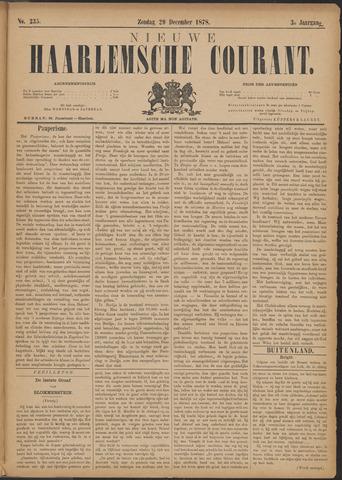 Nieuwe Haarlemsche Courant 1878-12-29